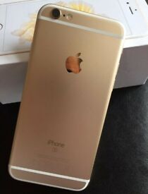 APPLE IPHONE 6S - 16GB - WHITE & GOLD - MESSAGE NOW