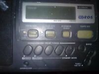 sony icf m50 rds 3 band vintage radio
