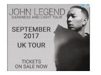 John legend tickets - Glasgow 08.08.17
