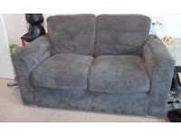 Sofa and swivel chair from furniture village