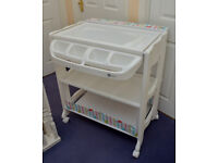 BOXED : MyChild Baby Changing Station (inc bath) - AS NEW Condition Sat There But Rarely EVER Used !