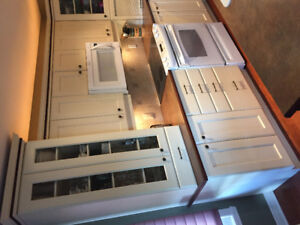 Entire kitchen Cabinetry