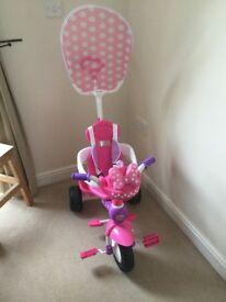 Used Kiddieland Minnie Mouse Push N Ride Trike