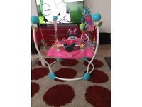 Baby bouncer Minnie mouse