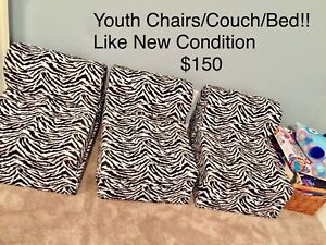 ComfyKids chairs/couch/bed