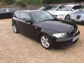 2008 BMW 118 DIESEL 6 SPEED MOT JAN 2018 JUST SERVICED