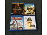 4 blu ray DVD bundle