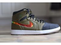 Jordan one retro malitia green size 8