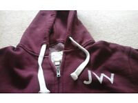 JACK WILLS hooded sweater Small