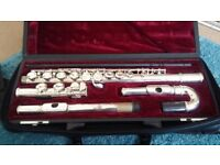 Used Flute with Curved Head and Case (Odyssey)