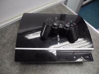 PlayStation 3 Phat 80GB W/Controller + Two games