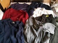 Mens Clothes Bundle size 4 X medium/ 1 X Large & 2 X 38 7 Items Incl Gucci shirt