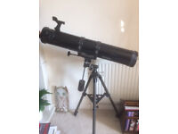 TA900-114EQ ReflectorTelescope with equatorial mount for sale.