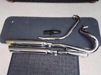 VICTORY HAMMER JACKPOT EXHAUST SYSTEM 08 - 13 AS NEW REMOVED AT DEALERSHIP
