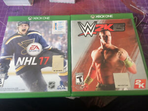 WWE 2k15 on Xbox one