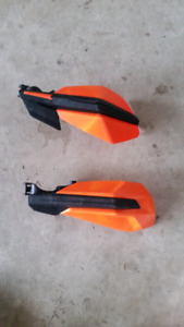Ktm stock hand guards.