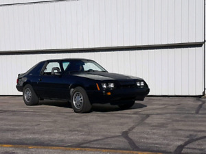 1983 Mustang Turbo GT 2.3L Turbo Charged