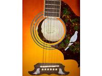 Epiphone Dove PRO VB Electric acoustic guitar