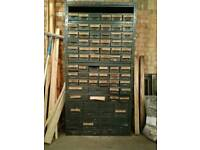 Industrial steel parts drawers