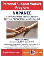 Personal Support Worker Program