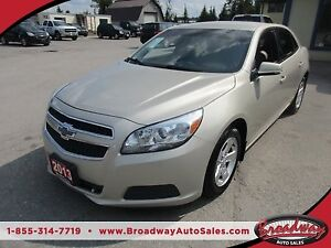2013 Chevrolet Malibu LOADED 1-LT MODEL 5 PASSENGER 2.5L - ECO-T