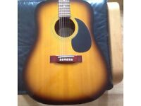 Ozark electro acoustic guitar good condition