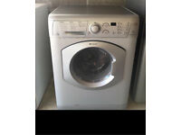 Hotpoint silver washing machine - can deliver