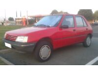 Classic, Low mileage Peugeot 205 Diesel!! Only 86k! May swap??
