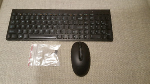 Lenovo wireless keyboard and mouse