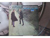 Simon and Garfunkel 'sounds of silence' Vinyl LP