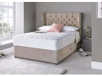 SINGLE/KING 1500 SPRING MATTRESS PAID £400+ NEW CONDITION GILTEDGE