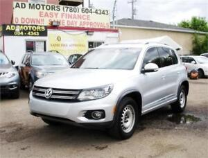 GET $1000 REBATE!! NO ACCIDENT!! 2013 VW TIGUAN HIGHLINE R-LINE