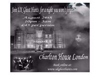Ghost Hunt at Charlton House in London