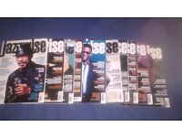 16 Jazz magazines (mostly JAZZWISE)-Excellent condition!