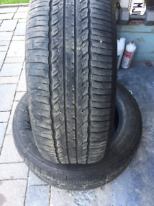 2 Summer Tires Toyo 245/55/19 Very Good Cond