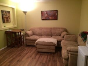 FULLY FURNISHED BASEMENT SUITE