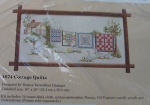 Cottage Quilts Counted Cross Stitch