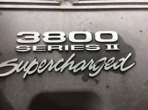 3.8 supercharged. BUICK REGAL GS