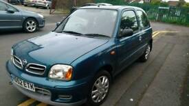 2002 Nissan Micra 1.0 only 30200 miles guaranteed spotless condition