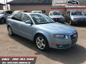 2006 Audi A4 3.2L QUATTRO TWO OWNERS   AWD ALBERTA VEHICLE!!!
