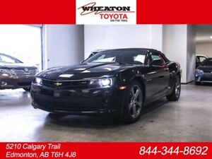 2014 Chevrolet Camaro LT RS, Convertible, Leather, Heated Seats,