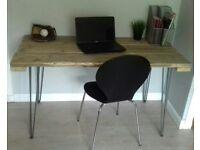 Handmade Reclaimed Scaffold Desk