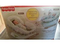 Baby motion glider seat
