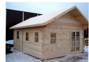 New  TINY  HOUSE  Log  style  Cabin