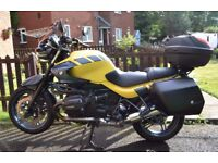 BMW R1150R Tourer c/w luggage, screen, raincover, heated grips