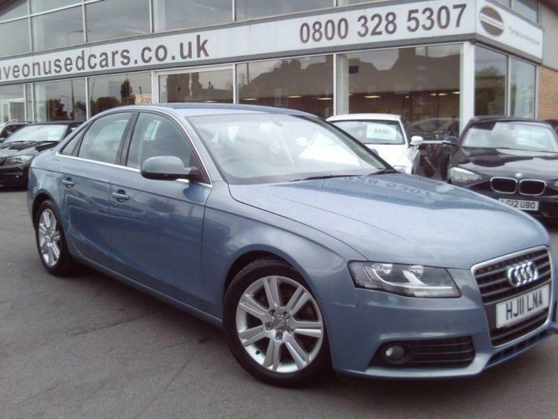 2011 Audi A4 2.0 TDI 136 SE 4dr [Start Stop] 4 door Saloon