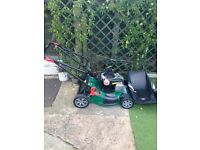Qualcast 46 cm self propelled lawnmower Only used once less than one week old