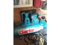PROFESSIONAL AIR COMPRESSOR, SAND BLASTER, AIR TOOLS AND HOSES