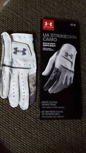 UA StrikeSkin Camo Golf Glove - for sale
