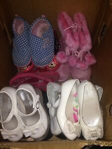 Toddler girls shoes and boots size 6-8